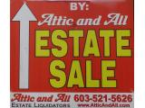 Attic and All estate liquidator's
