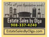 Estate Sales By Olga LLC (Estate Liquidation Co.) New Jersey's #1 Choice