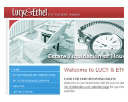 LUCY & ETHEL DO ESTATE SALES!