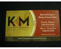 K & M Estate Sales & Liquidations LLC