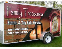 Family Treasures Estate & Tag Sales, LLC