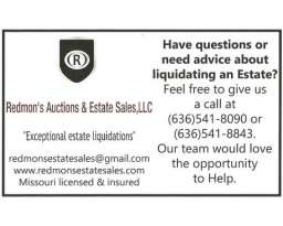Redmon's Auctions & Estate Sales, LLC