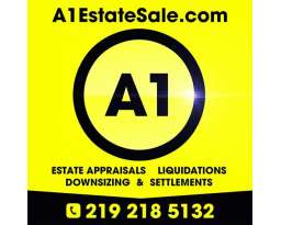 A1 Estate Sale - FREE in Home Evaluation 219.218.5132 Call/Text Now