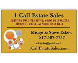 1 Call Estate Sales, LLC