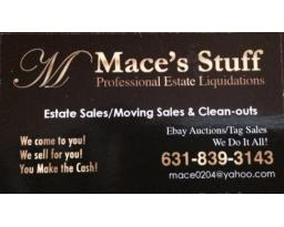 Mace's Stuff  Estate Sales