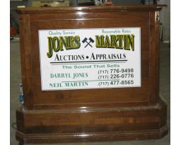 JONES & MARTIN AUCTIONS LLC