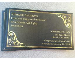 Rberger Auctions
