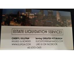 Estate Liquidation Services Pittsburgh