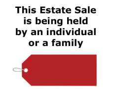 Individual or Family Held Estate Sale