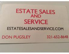 ESTATE SALES AND SERVICE   florida NEW JERSEY 321-652-8648